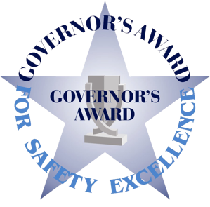 governor's award for safety excellence