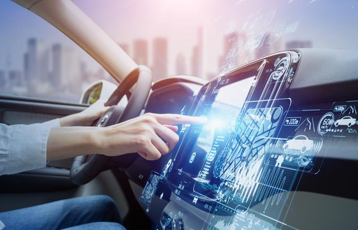 Autonomous Vehicle PCB #1